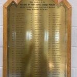 1955 Memorial plaque