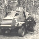 1955 vehicles Otter scout car