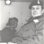 Squadron Comd post - Maj Russel Baird
