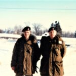 Sgt Pellerin RSM Anley